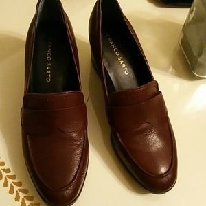 FRANCO SARTO LEATHER  SHOES  SIZE/7 M